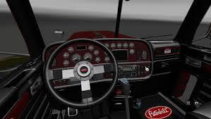 peterbilt 389 interior lights peterbilt 389 interior v2 0 for ats american truck simulator