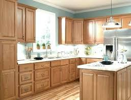 Light Oak Kitchen Kitchen Paint Colors With Light Oak Cabinets Oak Kitchen Cabinet