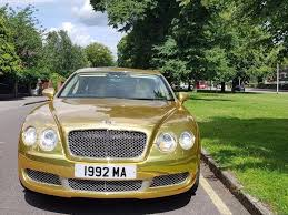 bentley mulliner chrome gold in leytonstone london gumtree