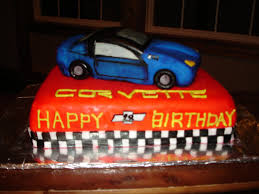 corvette birthday megan s specialty cakes corvette