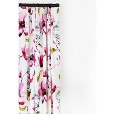 Orchid Shower Curtain Layla Orchid Fabric U2013 Tonic Living