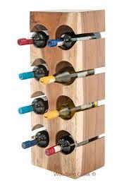 amazing block wine bottle rack counter wine rack natural wine