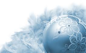 hand crafted blue christmas ornament hd wallpaper