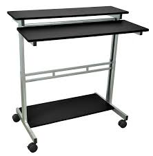 Sit Or Stand Desk by Amazon Com Luxor Standup 40 B Stand Up Desk Black Industrial