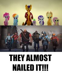 Team Fortress 2 Memes - mlp movie and team fortress 2 meme by ejlightning007arts on deviantart
