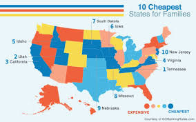 cheapest west coast cities 10 cheapest states to raise a family huffpost