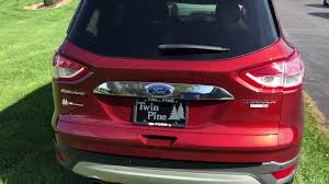 Ford Escape Trunk Space - how to set the height on your 2014 ford escape youtube