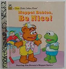 muppet babies nice golden books bonnie worth