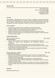 sample resume office administrator office admin resume sample