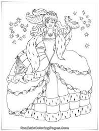 barbie diamond castle coloring pages girls realistic