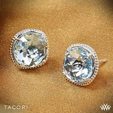 blue topaz stud earrings tacori island rains sky blue topaz stud earrings 2955