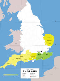 A Map Of England by All About English Wine Wine Folly