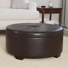Large Ottoman With Storage Sofa Leather Furniture Black Ottoman Large Ottoman