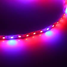 blue led strip lights 12v 1 5m waterproof 5050 grow led strip light 4 1 4 red 1 blue full