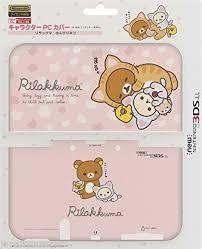 amazon new nintendo 3ds xl black friday deal new nintendo 3ds xl ll rilakkuma pink pc hard protect case cover