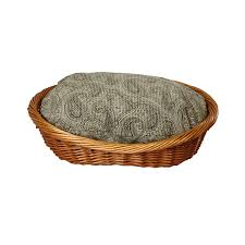 Hooded Dog Bed Snoozer Wicker Dog Beds Wicker Baskets