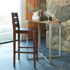 round adjustable bistro table westelm midcentury office