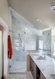 loft conversion bathroom ideas house covered in wood delivers privacy in style woods house and