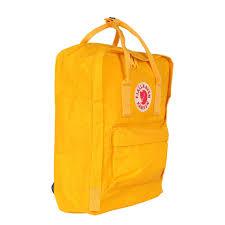kanken classic warm yellow u2013 moda calling
