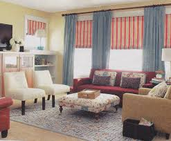 living room french country cottage decor window treatments entry