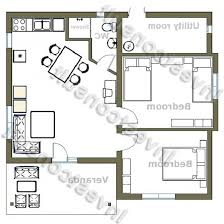 Single Story Country House Plans Small House Floor Plans Awesome Bedroom With Loft Cabin Flat Plan