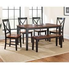 amazon com steve silver company kingston dining table oak black amazon com steve silver company kingston dining table oak black 36
