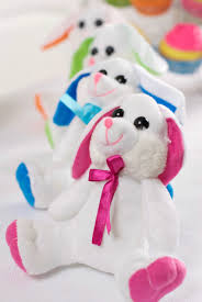 stuffed bunnies for easter some bunny you easter party idea squared