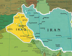 map iran iraq sisyphus iraq and iran what is the significance of that