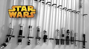 Star Wars Light Saver The U0027star Wars U0027 Lightsaber Collection Youtube