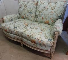 refection canapé réfection d un canapé de style louis xvi atelier bacchetta