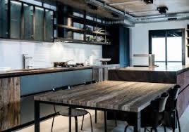 cuisine industrielle meuble cuisine industriel inspirational meuble cuisine acier meuble