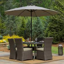 Patio Awesome Umbrella Patio Table Umbrellapatiotablelowes - Glass top dining table home depot