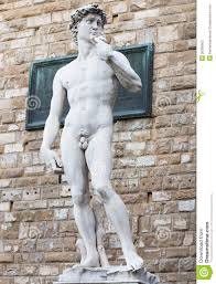 David Sculpture Michelangelo U0027s Replica David Statue In Florence Stock Photography