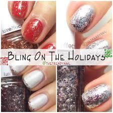 easy diy holiday nail ideas essie zoya nails trendy nail art