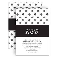 polka dot wedding invitations wedding invitations with belly bands invitations by