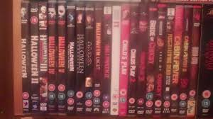 Halloween Dvd My Halloween Dvd Collection D Youtube
