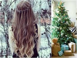 christmas hairstyles for long hair women hair libs