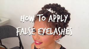 hairstyles for an irish dancing feis how to apply false lashes for the irish dancing stage youtube
