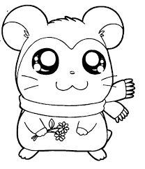 cute hamtaro coloring pages sweet hamtaro coloring pages