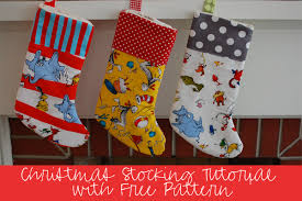 Christmas Stocking Decorations 15 Diy Winter Holiday Sewing Projects Weallsew