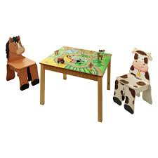 Kids Wood Table And Chair Set Furniture Remarkable Childrens Table And Chair Sets With Lovable