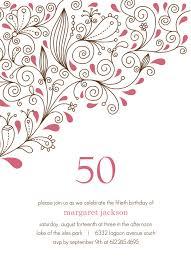 free printable invitations 50th birthday