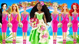 princessesdisney frozen elsa anna and jasmine ariel wedding guests