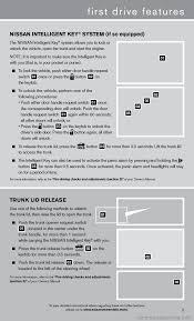 nissan sentra key light blinking nissan sentra 2013 b17 7 g quick reference guide