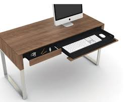 Modern Home Office Desks Prepossessing Modern Home Office Desks On Home Remodeling Ideas