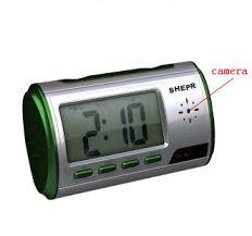 Cheap Bathroom Spy Camera Cheap Multifunction Clock W Remote Control Motion Detection