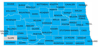 Nd Map North Dakota Home Page Experience Works