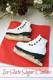 Cookie Decorating Tips How To Make And Decorate Ice Skate Sugar Cookies