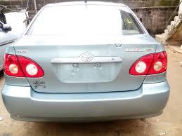 toyota 2006 le toks 2006 toyota corolla le autos nigeria