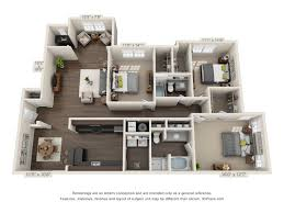 3 bedroom 2 bath floor plans floor plans greystone vista knoxville tennessee luxury apartments